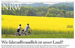 Niederrhein Radfahren Radrouten Touristik